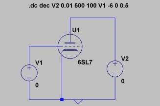 Simulated Circuit in LTSPICE